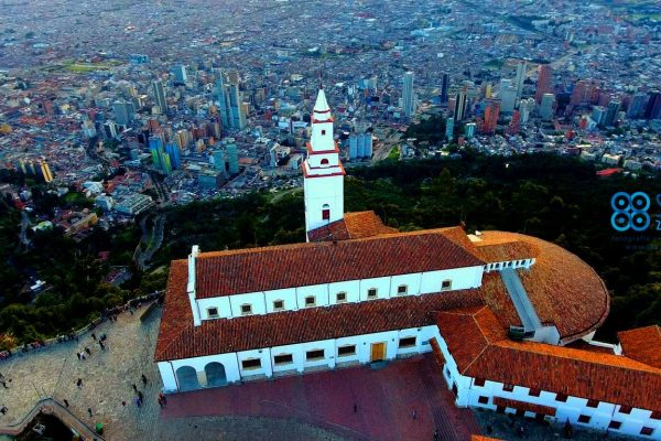 Cerro de Monserrate Drones Sky Zoom