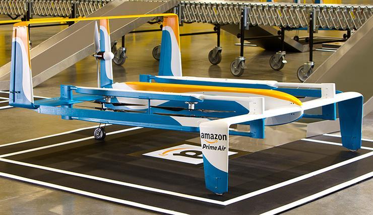 Amazon Drones.