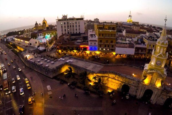 Drones Colombia: Turismo con Drones Cartagena.