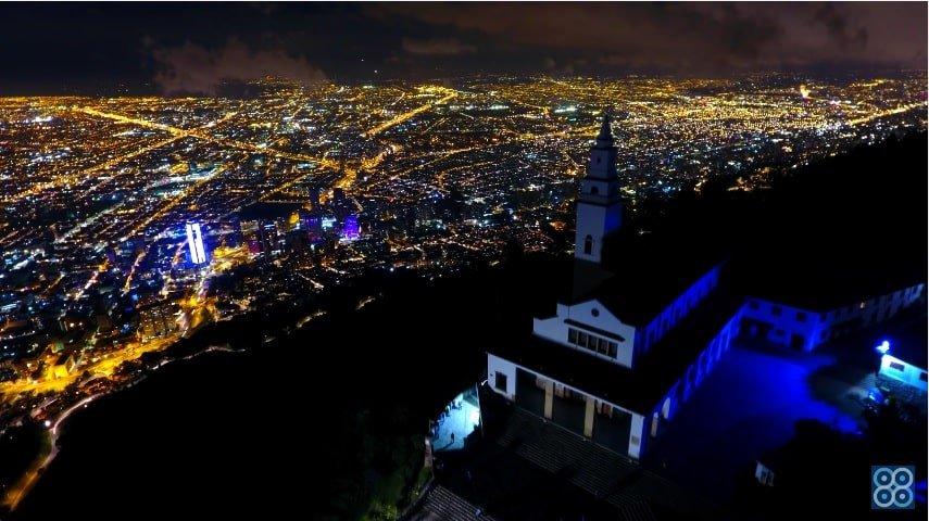 Cerro de Monserrate drones Sky Zoom.