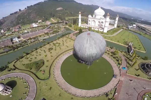 Parque Jaime Duque desde los drones de Sky Zoom.