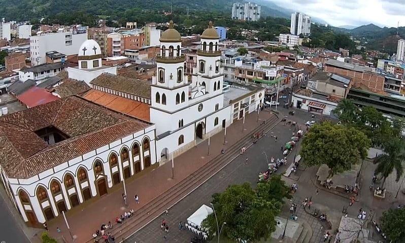 Floridablanca - Santander desde los drones de Sky Zoom.