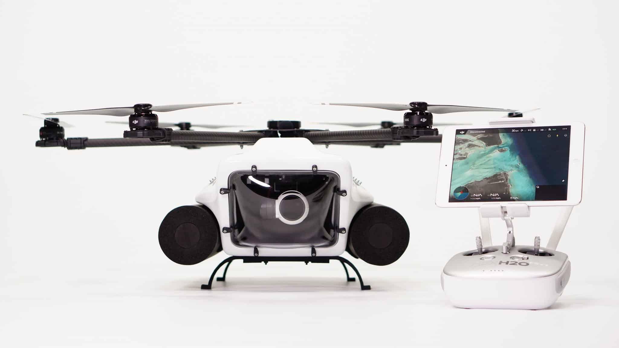 HexH2 Pro V2 el dron impermeable.