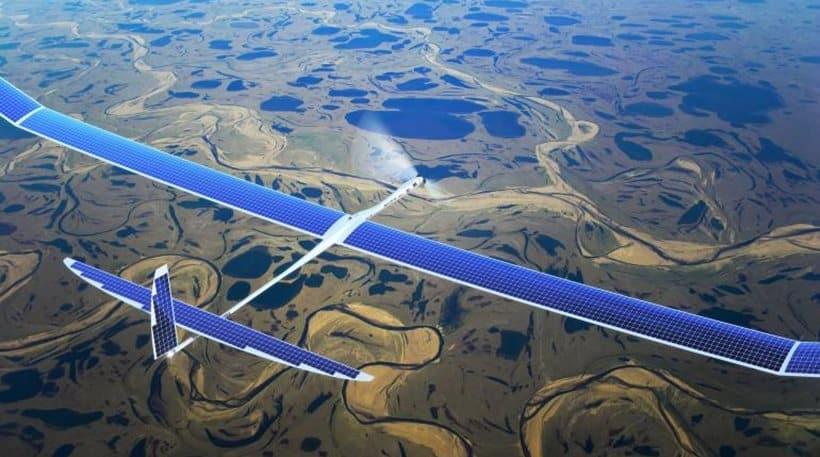 Aquila el dron de facebook iniciará sus pruebas.