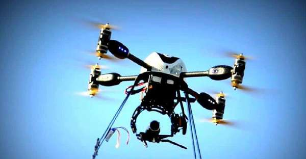 En India usarán drones para controlar y preservar la población de tigres.