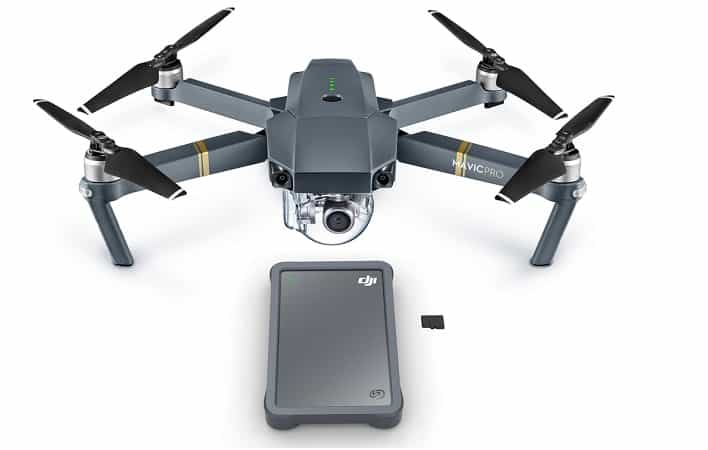 Seagate DJI Fly Drive, el disco duro portable para drones.