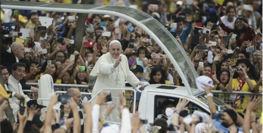 Durante la visita del Papa Francisco a Colombia, los drones estarán prohibidos.