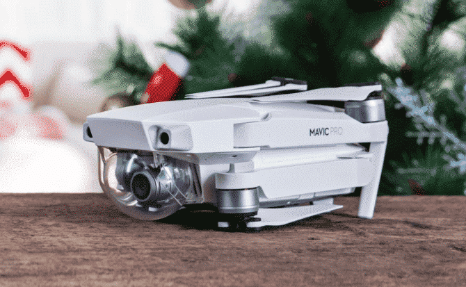 DJI Mavic Pro Blanco Alpino llega para esta navidad de la mano de Apple.