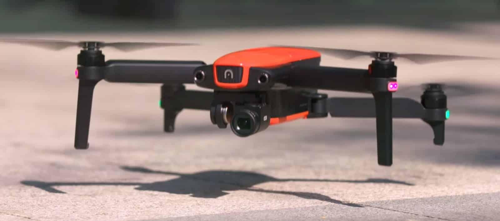 EVO es el dron portátil de Autel y fue presentado en el CES 2018 de las Vegas.
