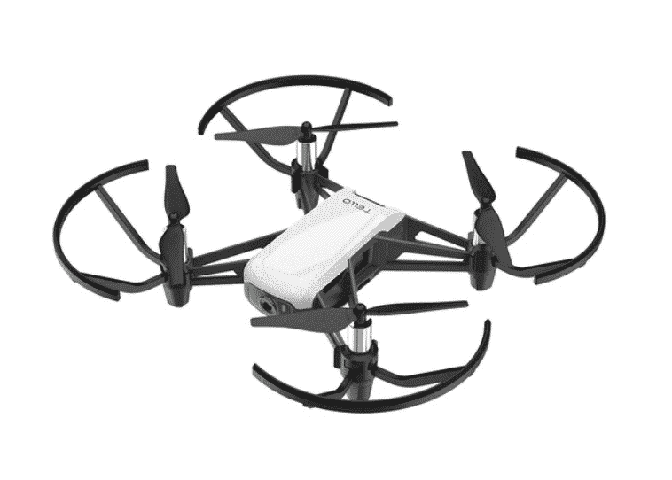Tello dron de DJI e Intel.