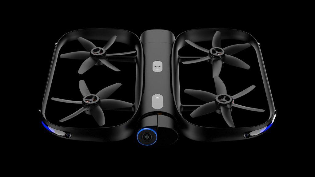 Skydio R1 dron para los atletas.