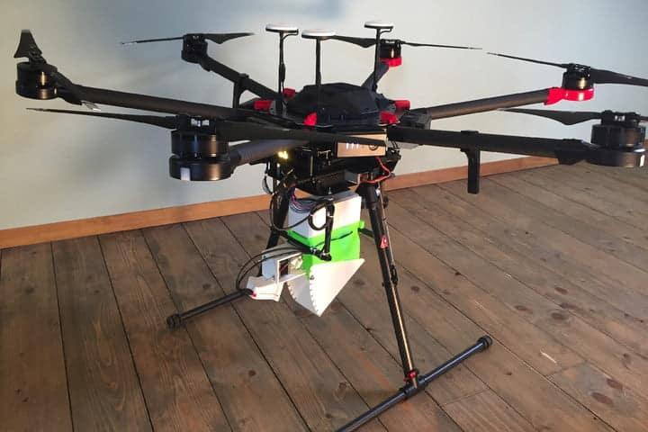 Virus del Zika drones