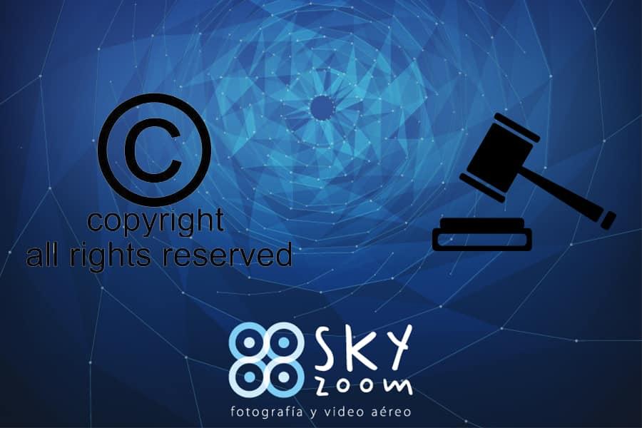 Violación derechos de autor Sky Zoom.