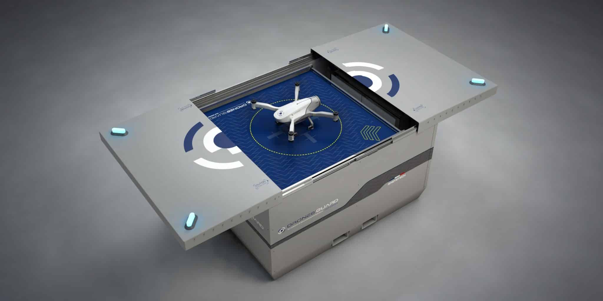 Drone Autónomo Skeyetech Azur Francia