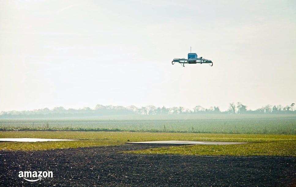 Amazon Prime Air Drone.