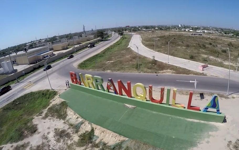 Drones Barranquilla: un vuelo por La Arenosa desde un Dron.