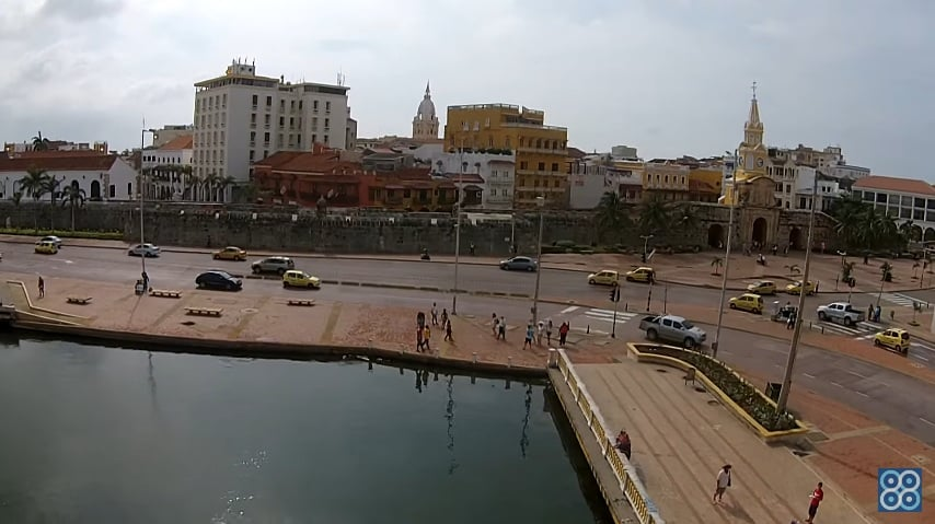 Turismo con drones. Cartagena y su centro histórico.
