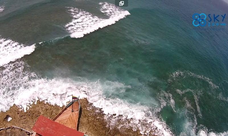 San Andrés Islas desde un Drone.
