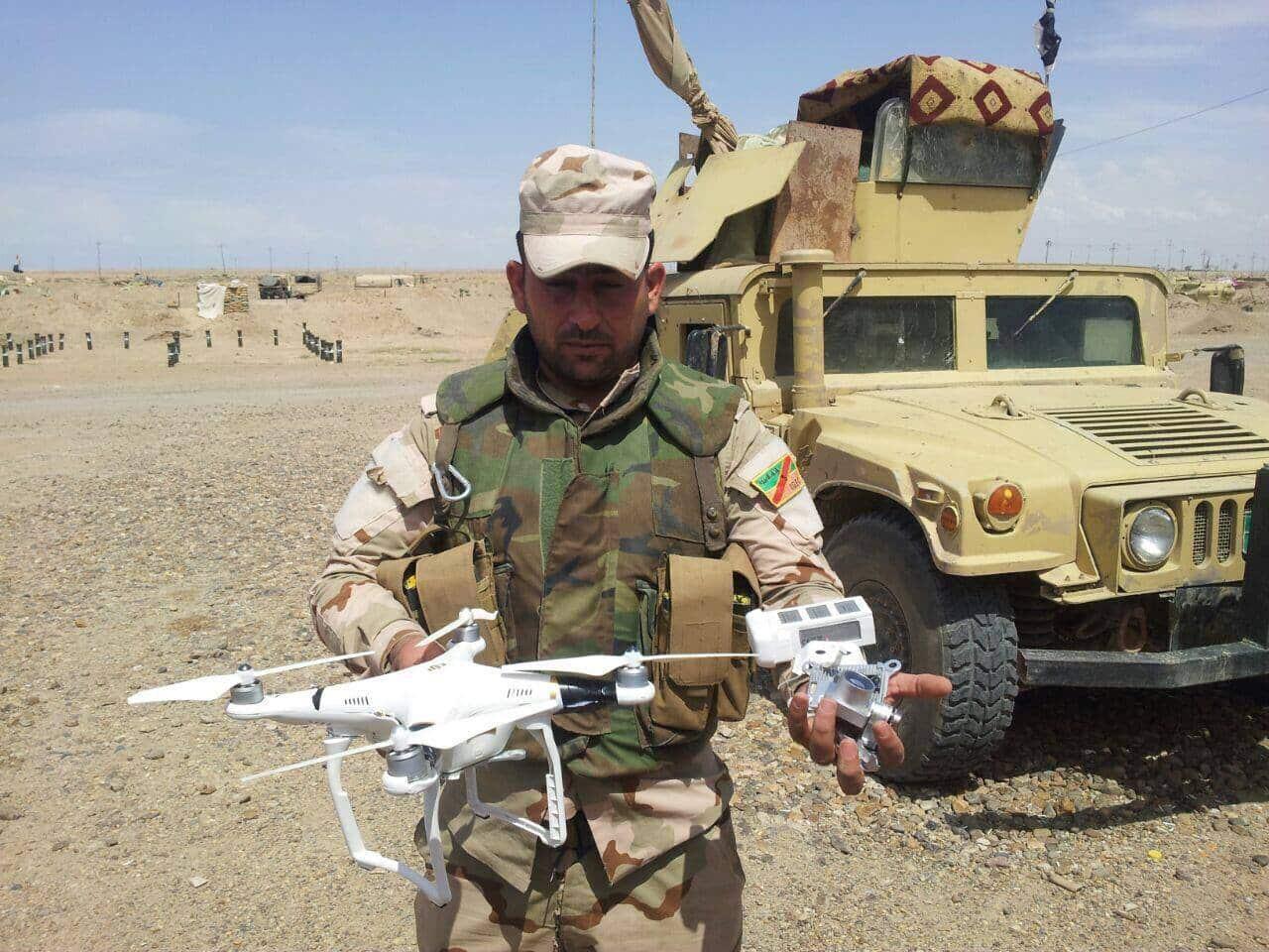 Ataque de Isis con drones.