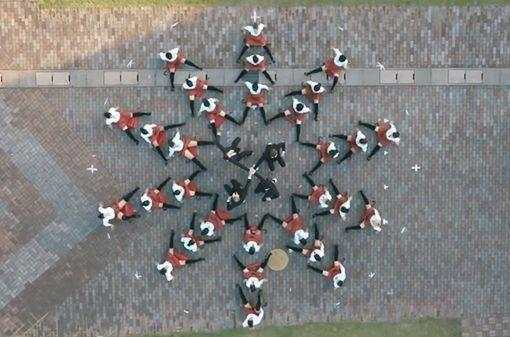 Video con drones del grupo OK Go.