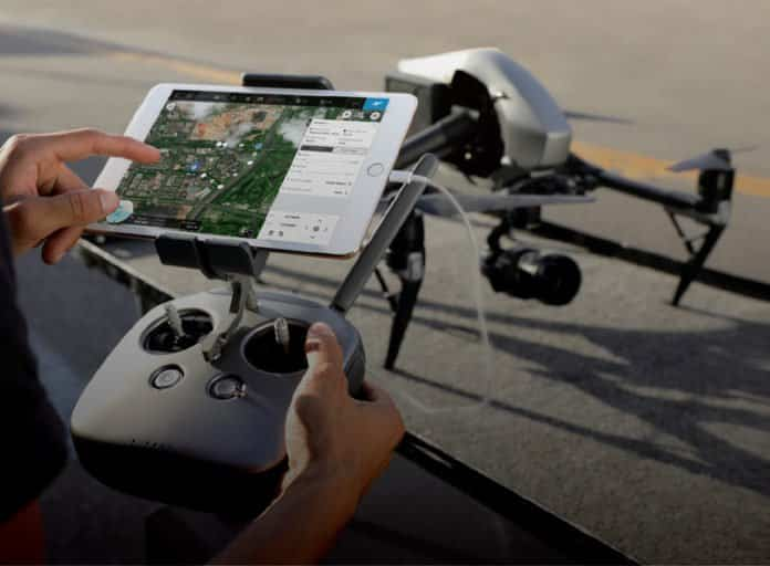 DJI Ground Station Pro drones.