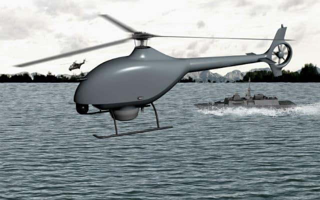 Drone VSR700 de Airbus.