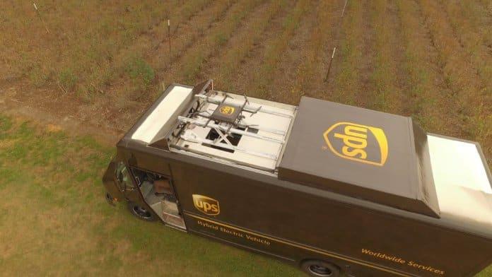 UPS enviará a zonas rurales drones para que despachen sus paquetes.