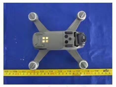 DJI Spark drone de carreras.