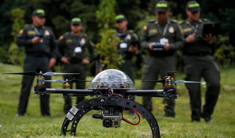 La frontera entre Colombia y Venezuela será controlada por 15 drones. Arauca.