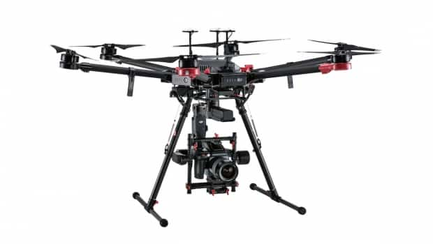 DJI M600 Pro es el nuevo dron lanzado en alianza con Hasselblad. Tendrá una cámara de 100 megapíxeles.