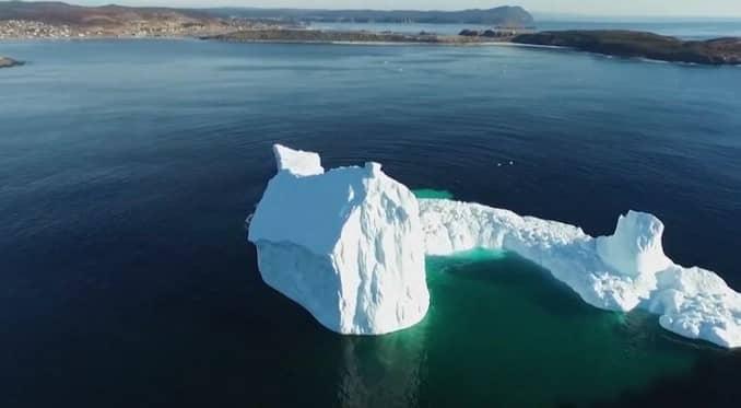Ferryland Iceberg en Canadá.