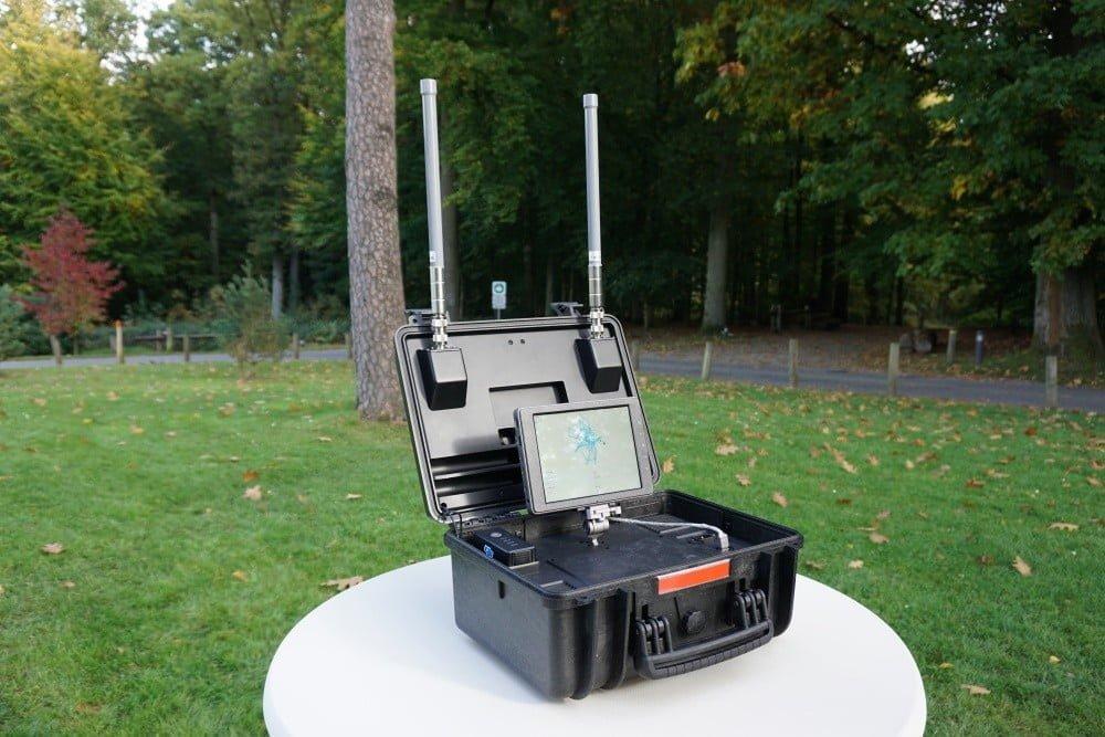 DJI AeroScope control drones aplicación