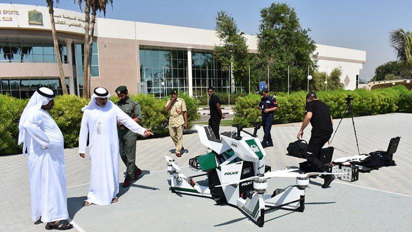 La aeromoto Scorpion-3 fue probada en Dubái en el marco de la feria tecnológica GITEX.