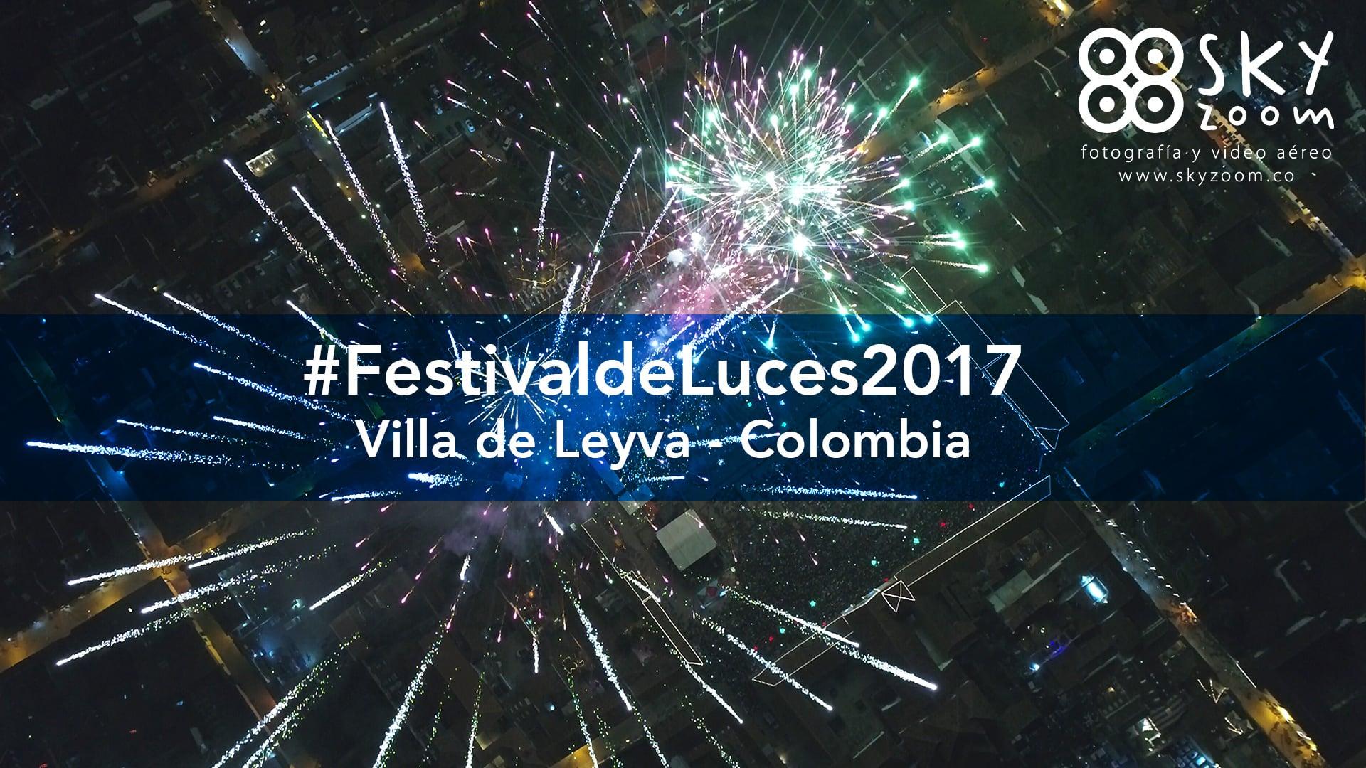 Villa de Leyva Festival de Luces 2017
