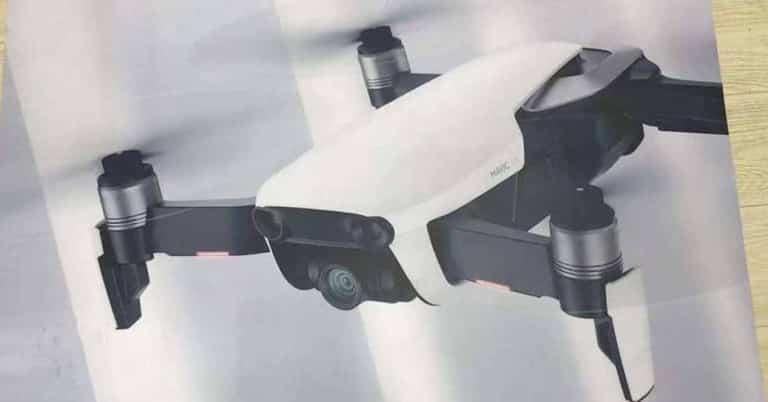 DJI Mavic Air el nuevo dron de la compañía china.