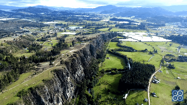 Rocas de Suesca Cundinamarca Colombia.