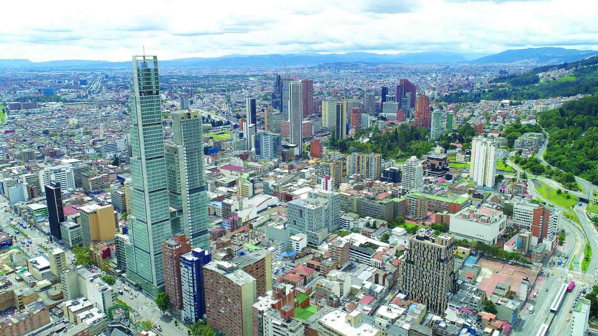 Bogotá 480 años desde un dron.