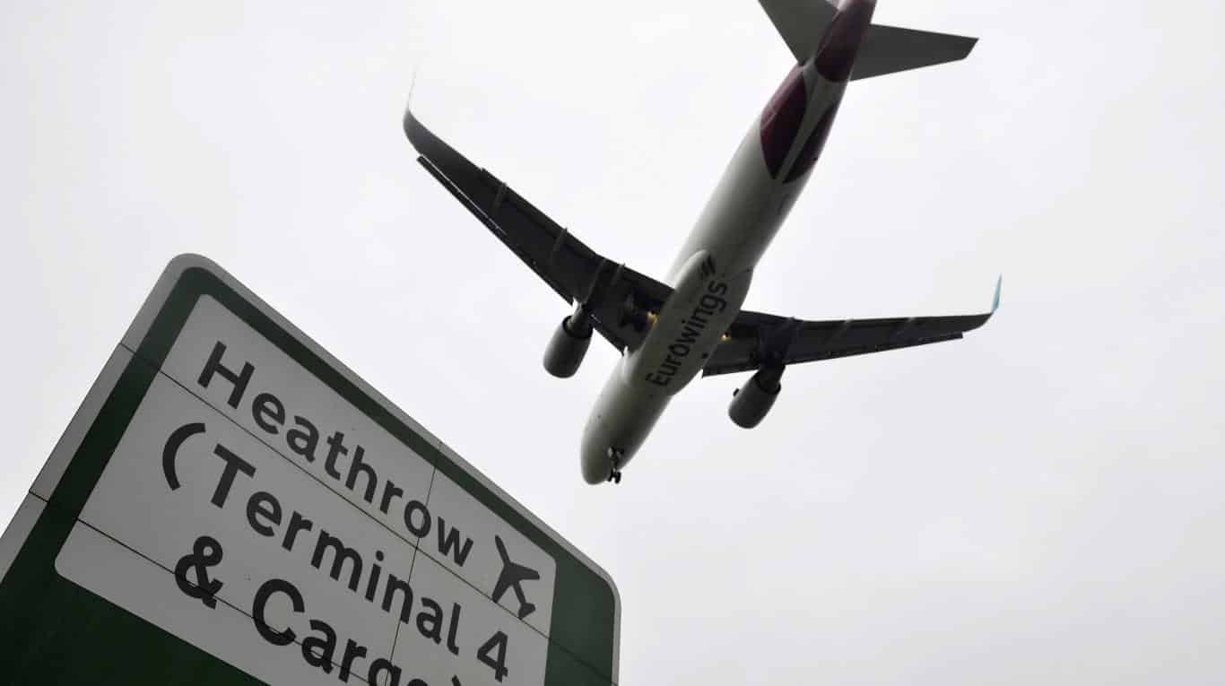 antidrones Heathrow Londres