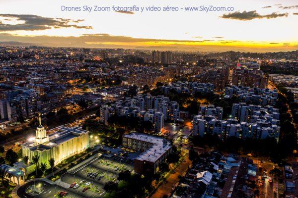 Servicio de drone Bogotá - Alquiler de Drones Bogotá