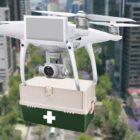 Transportar pruebas de Covid-19 con drones coronavirus mexico