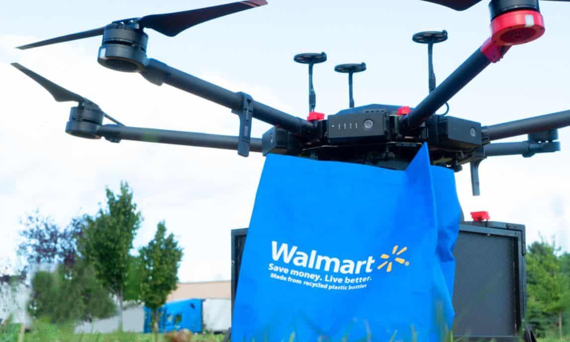 walmart drones domicilios