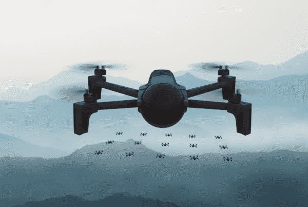 enjambre de drones ces 2021